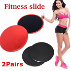 2Pairs Sport Dual Sided Gliding Discs Fitness Core Sliders Home Exercise Workout