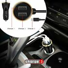 For Samsung Galaxy S20 S10 Plus Fast Car Charger Adaptive & Fast Type-c Charger