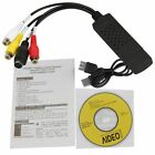 Usb 2.0 Tv Video Audio Vhs To Dvd Hdd Converter Capture Card Adapter UP CD  Disk