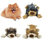 FJ- PETS DOG PUPPY CARTOON BEAR SHAPE PLUSH DOLL SOUND SQUEAKY BITE PLAYING TOY