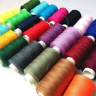 2PCS Polyester Sewing Thread 15 Hot Color Tread Reels 200m Hilos Machine Threads