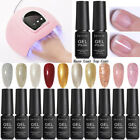 13Pcs 54W UV Lamp Nail Dryer Soak Off Glitter UV Gel Polish Base Top Coat Kit