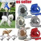 Pet Small Dog Puppy Harness And Leash Set Breathable Mesh Vest Chest Strap XS-XL