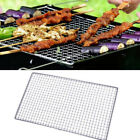 UK Stainless Steel BBQ Grill Grate Grid Wire Mesh Rack Cooking Net