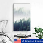 Mdern Abstract Frest Tree Canvas Print Art Painting Hme Wall Decr   US US  C