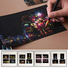 Creative Adult Kids Scratch DIY Art Painting Paper With Drawing DIY Stick Kit