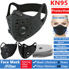 Sport Mask Cycling Running Face Mask Carbon Filter Filtration Workout Protection