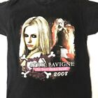 Reprint 2008 Avril Lavigne Tour Black Men T-shirt S-234XL F1248 image