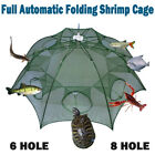 Magic Fishing Trap Automatic Folding Cast Cage Crab Fish Lobster Net Rivers Lake