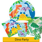 Dino PartyBirthday Party Range - Dino Party  Boy Girl Tableware & Decorations