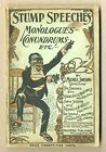 Stump Speeches, Monologues, Conundrums, Etc. #NN-1900 GD/VG 3.0 image