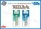 NEW Rizla Flavour Cards Card - Infusions of Fresh Mint or Menthol Chill Multi