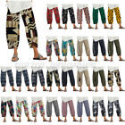 ZANZEA Women Pants Casual Harem Pants Floral Print Baggy Long Trousers Plus Size