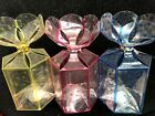 5Pcs PVC Clear Gift Box Container Folding Packaging for Lucky Wish Origami star