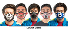 Lucha Libre Face Cover for Sports