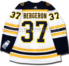 PATRICE BERGERON BOSTON BRUINS AWAY AUTHENTIC PRO ADIDAS NHL JERSEY