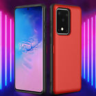 For Samsung Galaxy S20 Note 10 S9 S8+ Slim Matte Card Pocket Case Magnetic Cover