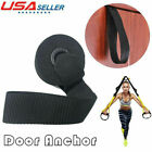 Home Exercise Yoga Over Door Anchor for Resistance Bands Elastic Band Tube US image