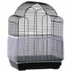 Nylon Mesh Net Cover Stretchy Bird Cage Seed Catcher Seeds Guard Parrot