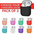 AirPods Silicone Case Cover Protective Cover For Apple AirPod 2 & 1 Pro Keychain