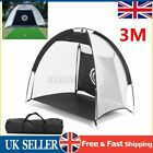 1M/2M/3M Foldable Golf Driving Cage Practice Hitting Net Outdoor Trainer Bag