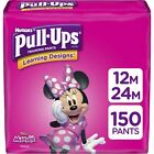 Pull-Ups Learning Designs Girls' Training Pants, 12-24M, 150 Ct, One Month