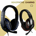 Gaming Headset For Xbox One PS4 Nintendo Switch & PC 3.5mm Mic Headphones UK