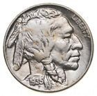 Sharp Horn Detail! 1935 Buffalo Indian Head Nickel - Look at the condition! *507
