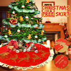 2x Christmas Tree Skirt Stands Base Floor Mat Home Xmas Party Decor  1 F