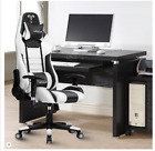 Gaming Computer Chair Office 180 Degrees For Faux Leather Racer