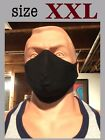 XXXL XL Extra Large Big Tall Size Knit Face Mask Filter Pocket Beard cover Men
