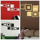 Stickers Mirror Sticker For Wall Wall Sticker Home Decoration Diy Wall Decal Bb