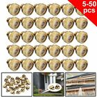 10-50 Pcs Brass Misting Nozzles Water Mister Sprinkle For Cooling System 0.012