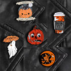 Pin Brooches Halloween Backpack Goth Badges Different Hard Enamel Lapel Ghost