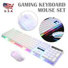 G21 Rainbow Backlight USB Ergonomic Gaming Keyboard & Mouse Set Best Selling