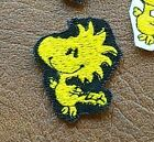 Patch Iron-On Bird Woodstock Peanuts Snoopy Cartoon Applique Embroidered Patch