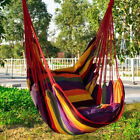 Home Garden Hammock Chair Yard Patio Hanging Swing Seat Outdoor Camping Picnic