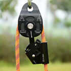 Tree Rock Climbing Heavy Lift Pulling Prusik Rope Pulley Rescue Device Equipment