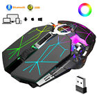 Au Bluetooth Gaming Mouse, Rechargeable Wireless Mice, For Laptop Pc Windows Mac