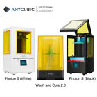 Anycubic 3D Printer Wash and Cure Machine + Photon S / Zero LCD SLA 3D Printer