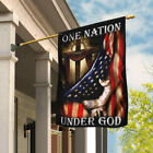 One Nation Under God. American US Flag THB2013F House Flag Garden Flag Jesus