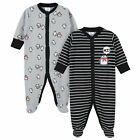 Gerber 2-Pack Baby Boys Penguin Thermal Sleep N' Plays