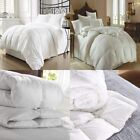 LUXURY HOTEL QUALITY GOOSE / DUCK FEATHER & DOWN DUVET QUILT / PILLOW ALL SIZES