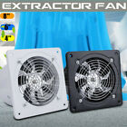 8'' Exhaust Fan Ventilation Extractor Blower Wall Mounted Kitchen Bathroom 220V