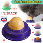 Cat Snacks Catnip Sugar Candy Licking Solid Nutrition Energy Ball Toys Healthy