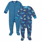 Gerber Baby 2-Pack Baby Boys Sea Footed Unionsuit Pajamas