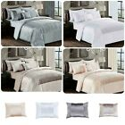 3-Piece Beautiful Duvet Cover Beding Set Satin Sequin Modern vintage look duvet.