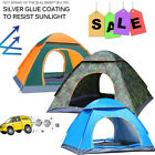 Tent Camping Waterproof Easy Quick Instant Pop Up Family Hiking Beach 4 Season