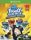 HASBRO FAMILY FUN PACK XBOX ONE NEW! MONOPOLY PLUS, RISK, SCRABBLE, BATTLESHIP