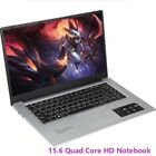 15.6 inch Laptop With HD IPS Gaming Laptops Gobal Version Ultrabook Quad Core